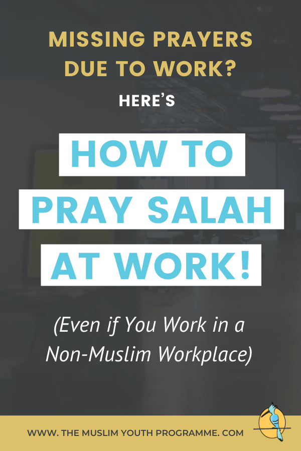 how to pray at work